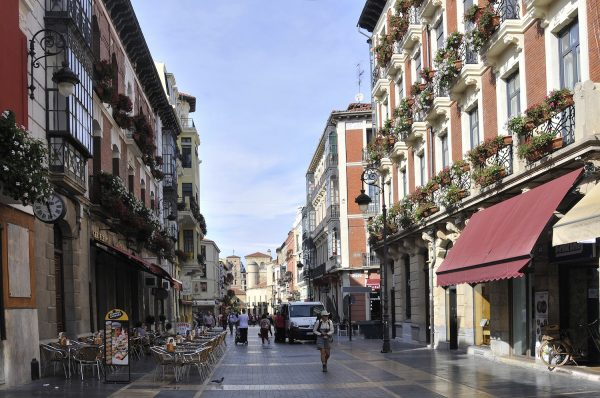 Tapas bars abound on this pedestrian-only street.