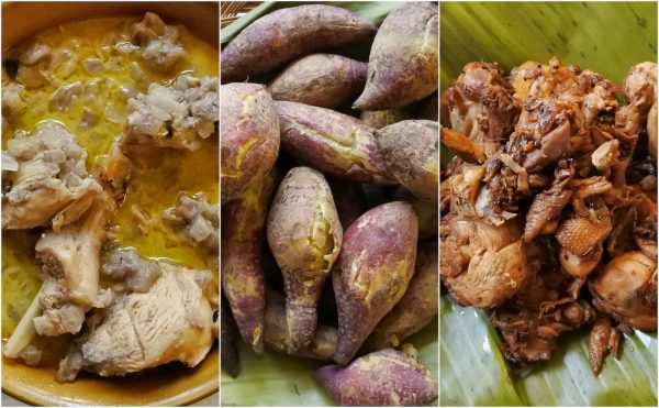 We sampled these typical Blaan Food