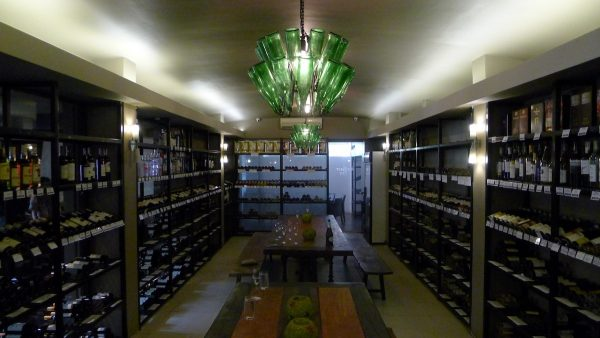 Interiors at Bibendum's Wine Cellar