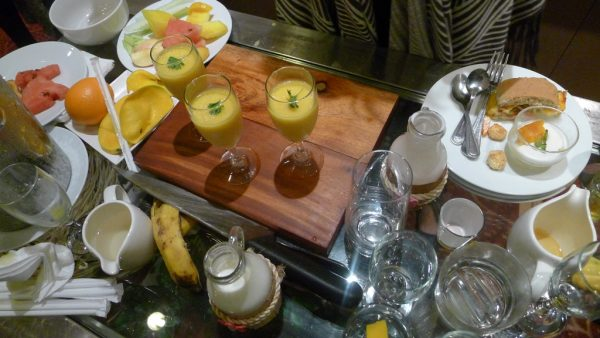 Smoothie challenge at Cebu Marriott