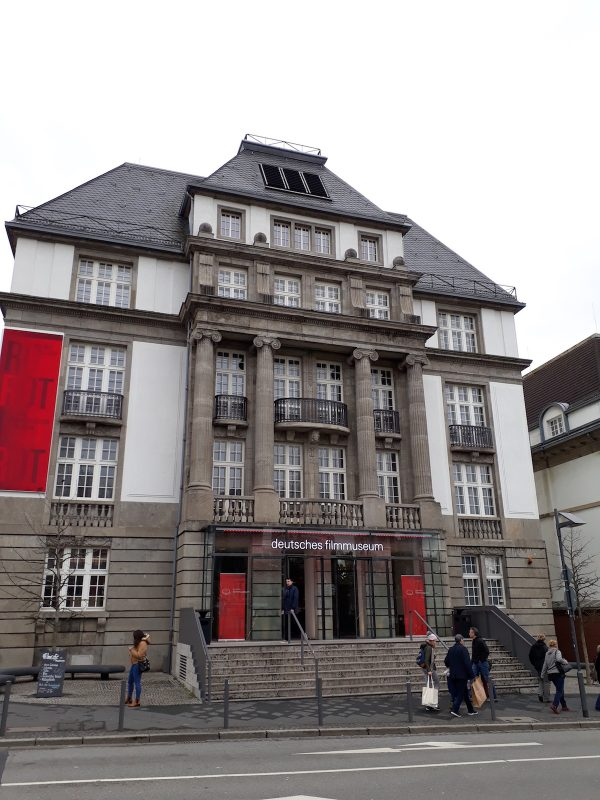 The German Film Museum, one of the museums found within Museumsufer