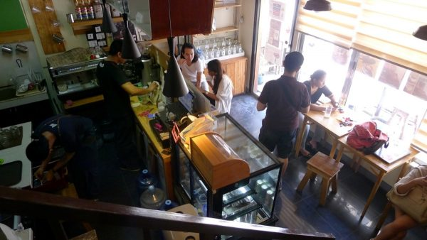 Typical day over at Cafe Jasmin