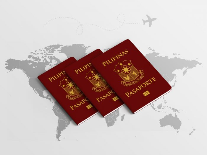 Philippine Passport Renewal in Hong Kong photo via Depositphotos