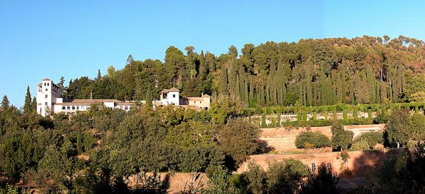 The other part of the Alhambra complex - Generalife.