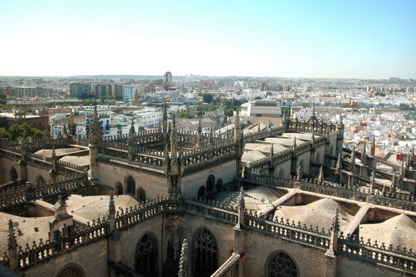 "The rooftop of La Giralda was used for some scenes in the movie ""Assassin's Creed"""