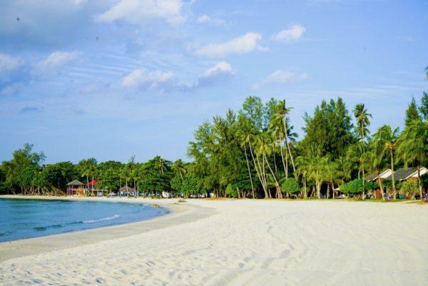 Beach Front of Nirwana Resort Bintan