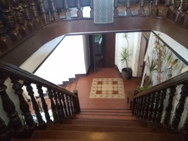 High-level staircase of Goco Ancestral House