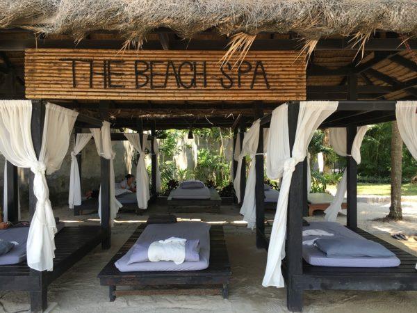 Massage by the Beach