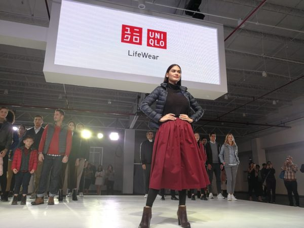 Pia Wurtzbach for UNIQLO Lifewear