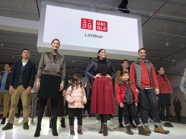 Uniqlo 2017 Fall and Winter Press Preview Fashion Show with Pia Wurtzbach