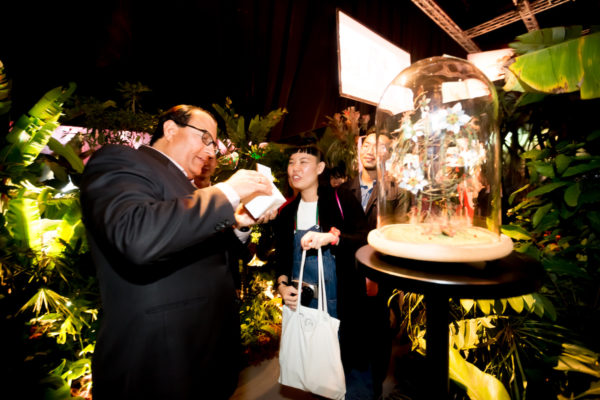 (From L-R) Minister for Trade and Industry (Industry) S Iswaran and Bran...