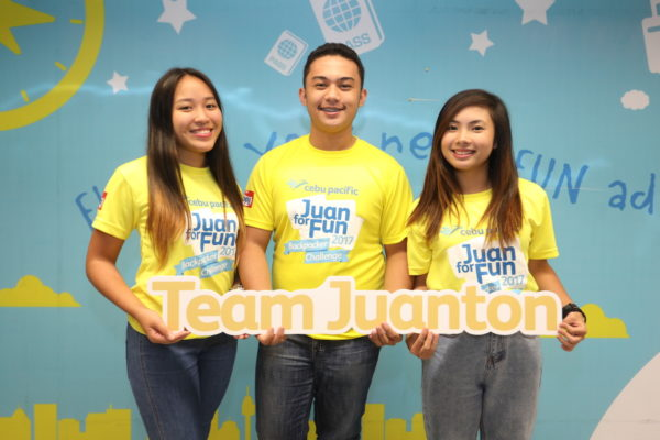 LOVE FOR PINAS. Aside from winning Travel-All-You-Can passes valid for one year, Juan for Fun Team Juanton brings home better appreciation of the Philippines and its people after their epic adventure with Cebu Pacific.