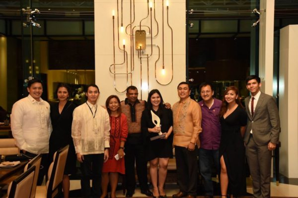 Team AirAsia PH and Indonesia after receiving the 2017 Asean Business Award for tourism.