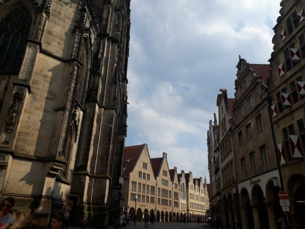 Other side of the Prinzipalmarkt