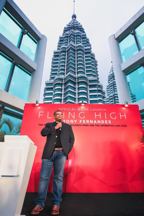 AirAsia Group CEO - Tan Sri Tony Fernandes Launches Flying High Book