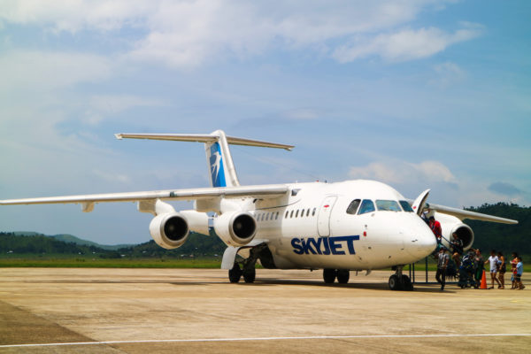 British Aerospace 146 Skyjet Airlines - Coron Palawan Flights