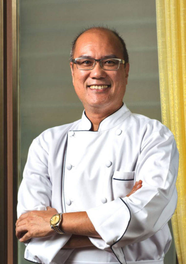 Chef Billy Cheong of Lung Hin - Marco Polo Ortigas Hotel