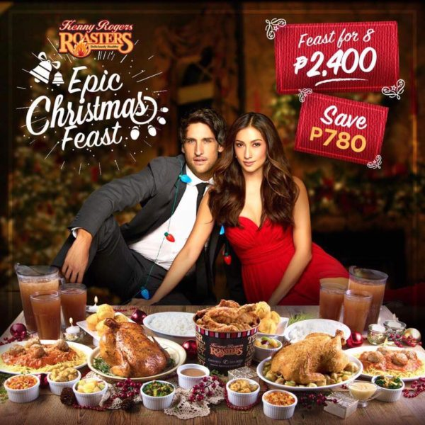 Feast With Your Family And Friends With The Epic Christmas Feast Only At Kenny Rogers Roasters Restaurant Out Of Town Blog