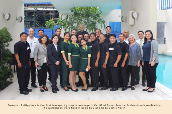 Europcar Philippines is the first transport group to undergo CGSP