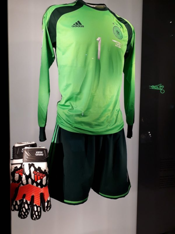 Relics, indeed: Manuel Neuer's gear during the Finals.