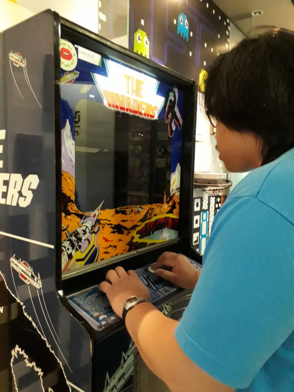 The Invaders arcade game