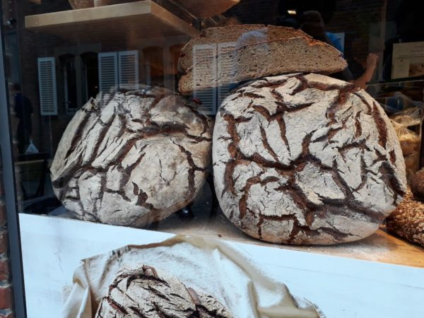 Two round breads saying hi, as you do.