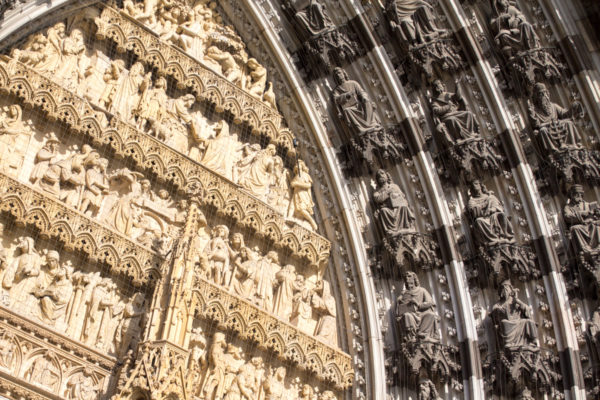 A closer look at the details of the tympanum