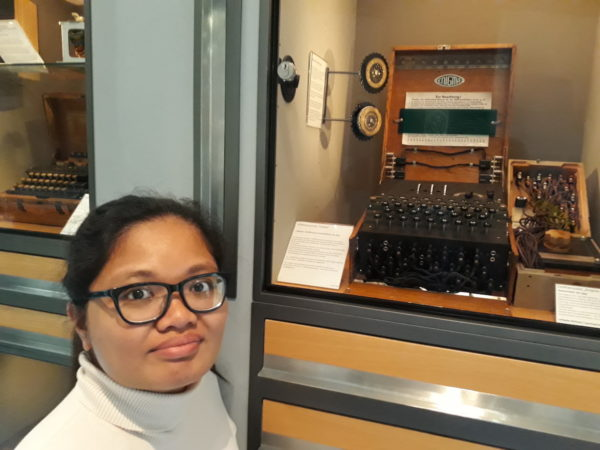 The Enigma Machine and me