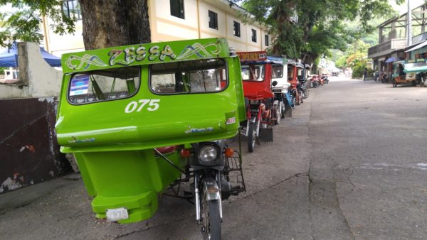 tricycles in Culion