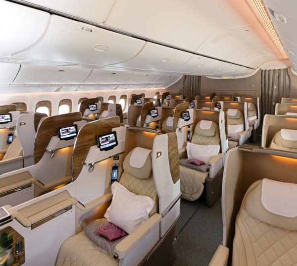 Emirates' new first class suites