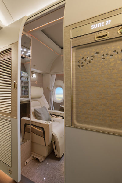 Emirates unveils new first class suite for Boeing 777 fleet