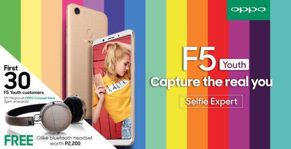 OPPO F5 Youth Bundle