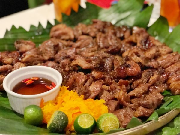 Pork and Chicken Barbeque