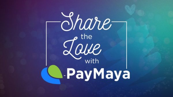 Share the Love with PayMaya