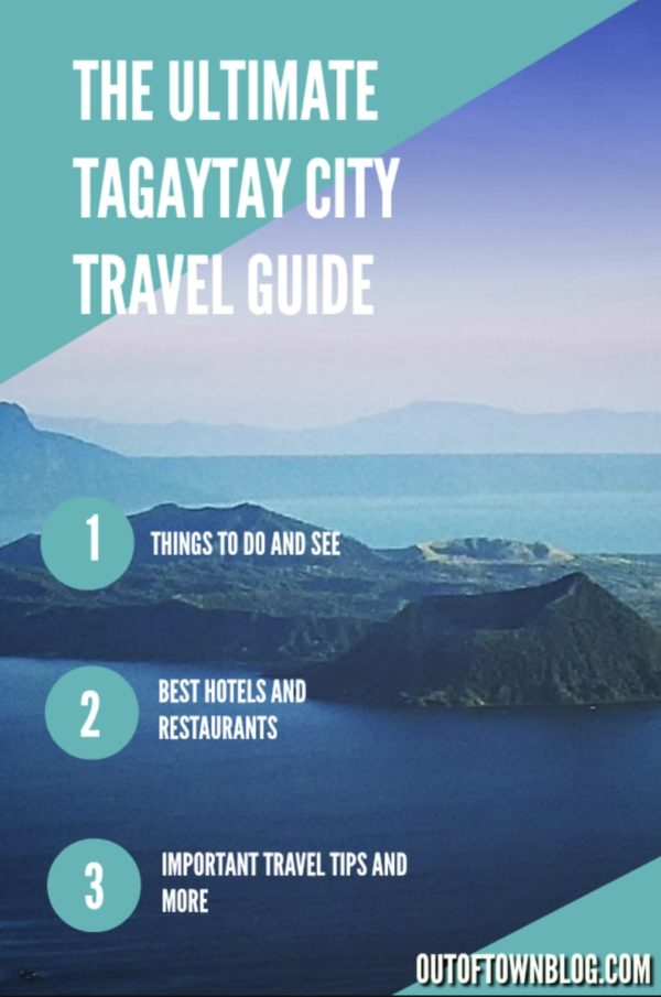Tagaytay Budget Travel Guide