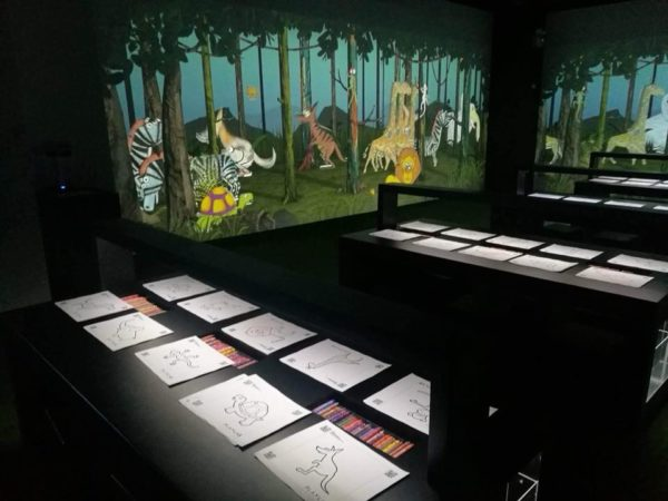 The Live Forest animation, Photo from Cebu Daily News.