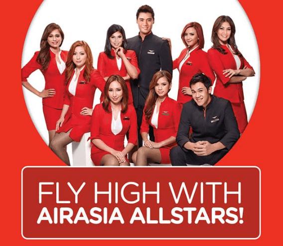 Be part of the AirAsia Allstars!