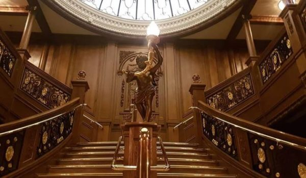 The famous Cherub on the Grand Staircase
