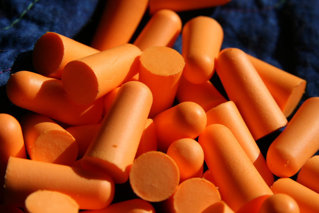 Earplugs can save your day especially if your roommates are noisy or snoring. [Image Credit: Quinn Dombrowski / flickr]