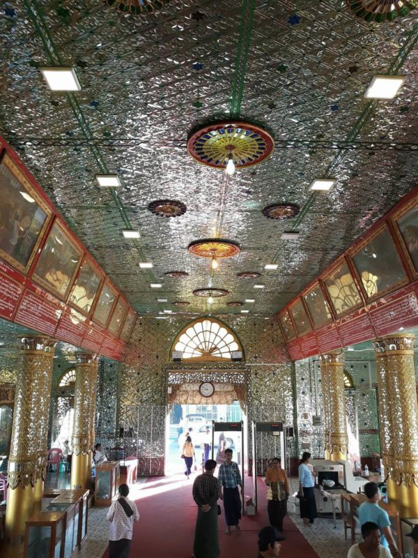 Golds and gems will welcome you upon entering Botataung Pagoda.