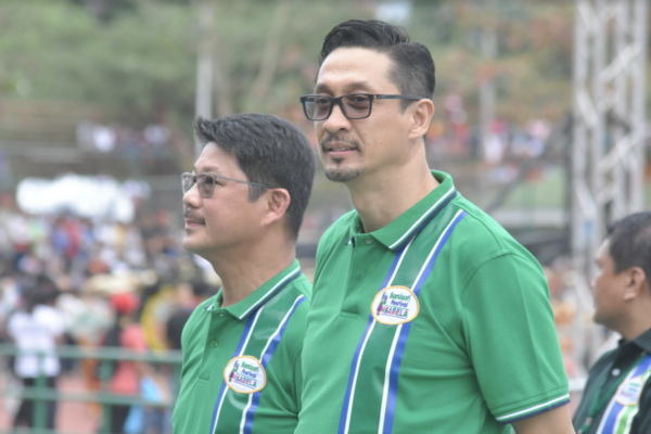 Governor Dy and Vice Governor Tonypet Albano