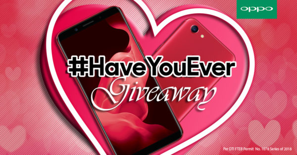 Have You Ever Giveaway - Share your Hugot Stories