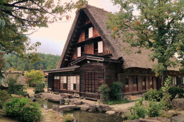 One of the oldest houses in Shirakawa-go Village