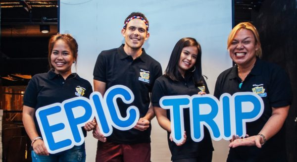 """Ready for an epic trip. Juan for Fun 2018 is sure to be an awesome adventure with coaches (from left) Baninay Bautista, Kyle """"Kulas"""" Jennermann, Bea Binene, and Jude Bacalso. They will also be joined by Kimpoy Feliciano and Wil Dasovich."""