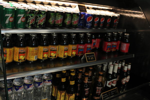 We get to choose any free drinks of our choice.We get to choose any free drinks of our choice.