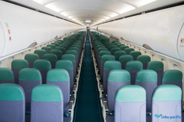 Inside Cebu Pacific Airbus A321 Aircraft