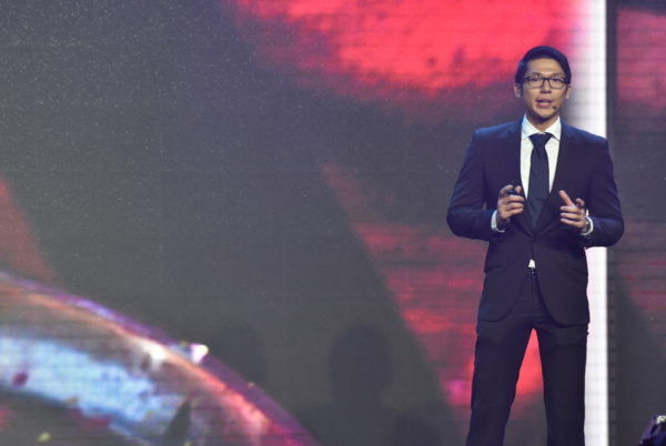Ivan Pua, Samsung Product Marketing Head for IT and Mobile