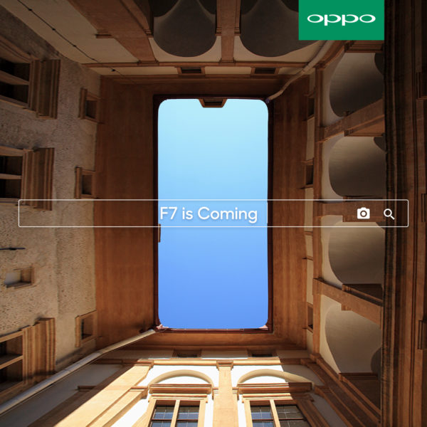 OPPO F7 is Coming Soon in the Philippines