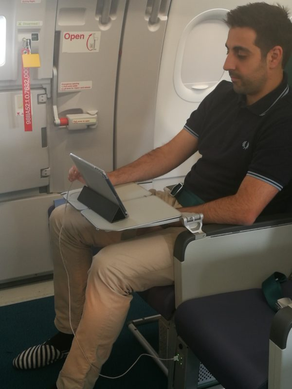 You can now charge your gadgets inside the New Cebu Pacific Airbus A321