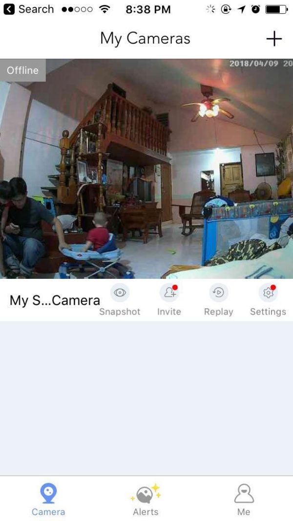 Clear Video Streaming 360 Smart Camera